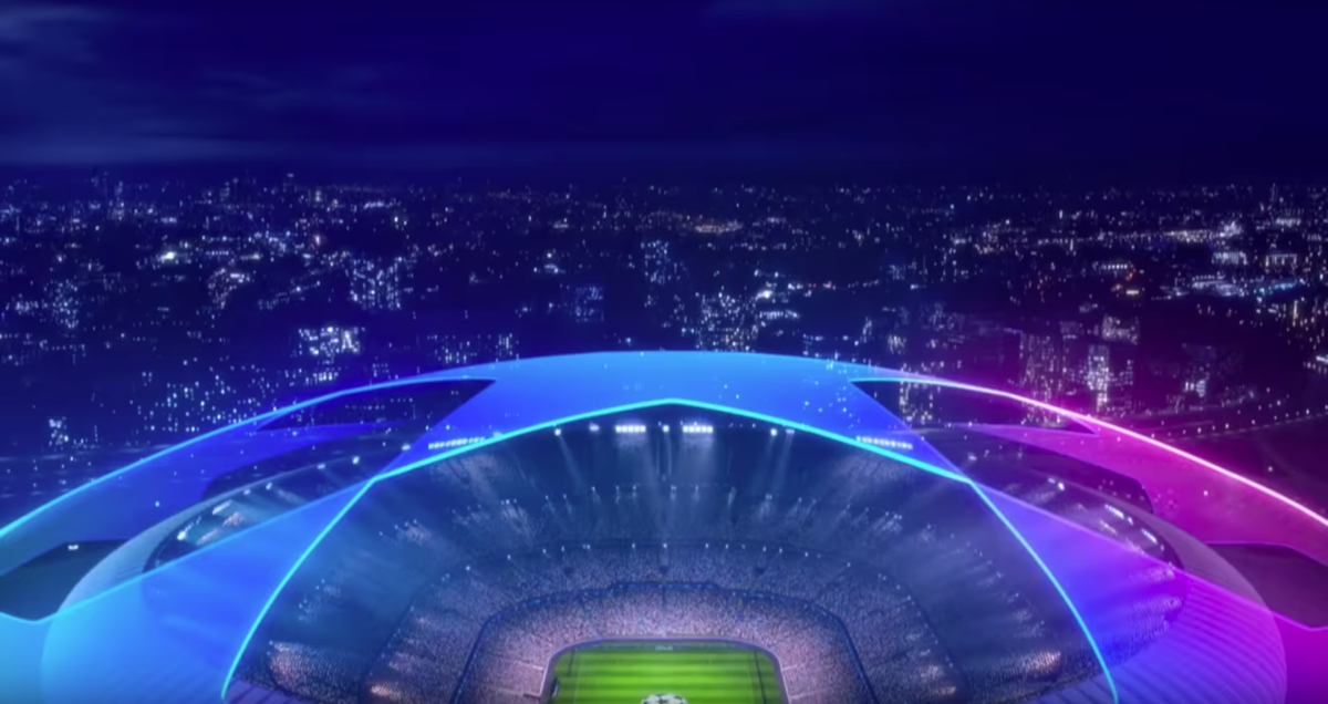 UEFA Champions League opening sequence